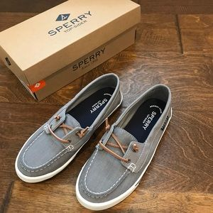 Sperry lounge away gray shoes size 7.5